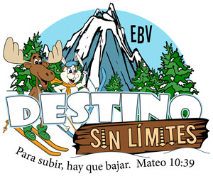 Logo Destination without Limits VBS English
